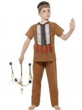 Childs Native American Warrior Costume